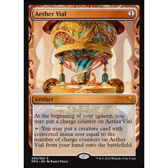 Magic the Gathering Kaladesh Inventions Single Aether Vial FOIL - NEAR MINT (NM)