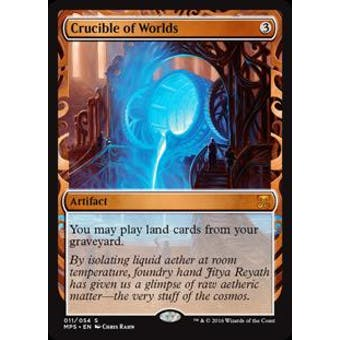 Magic the Gathering Kaladesh Inventions Single Crucible of Worlds FOIL - NEAR MINT (NM)