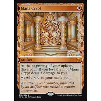 Magic the Gathering Kaladesh Inventions Single Mana Crypt FOIL - NEAR MINT (NM)