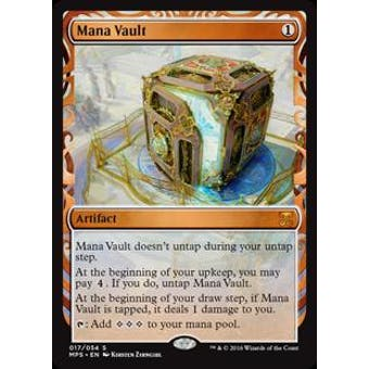 Magic the Gathering Kaladesh Inventions Single Mana Vault FOIL - NEAR MINT (NM)