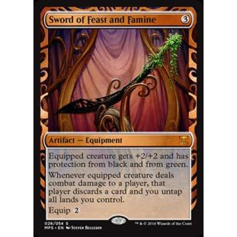 Magic the Gathering Kaladesh Inventions Single Sword of Feast and Famine FOIL - NEAR MINT (NM)