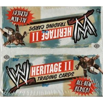 2006 Topps WWE Heritage II Wrestling Hobby Box