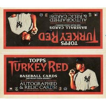 2006 Topps Turkey Red Baseball 24-Pack Box