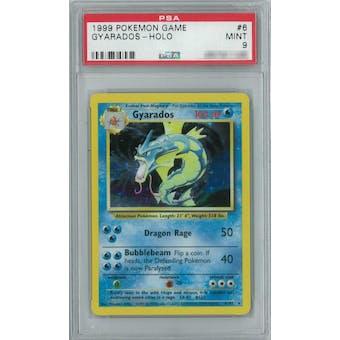 Pokemon Base Set Unlimited Gyarados 6/102 PSA 9