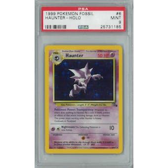 Pokemon Fossil Haunter 6/62 PSA 9