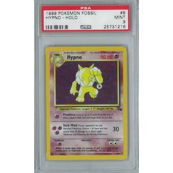Pokemon Fossil Hypno 8/62 PSA 9