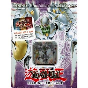 Upper Deck Yu-Gi-Oh 2006 Holiday Elemental Hero Shining Flare Wingman Tin