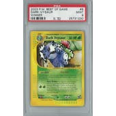 Pokemon Best of Game Dark Ivysaur 6 - Winner Single PSA 9