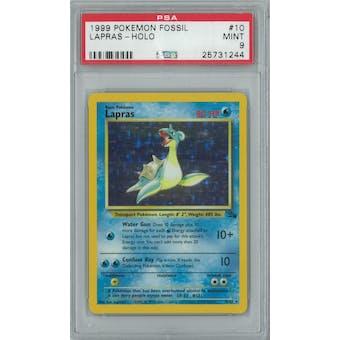Pokemon Fossil Lapras 10/62 PSA 9