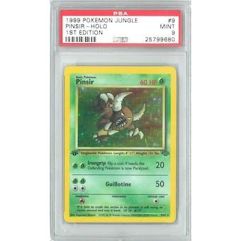 Pokemon Jungle 1st Edition Pinsir 9/64 PSA 9