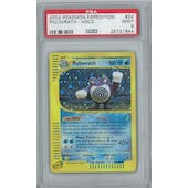 Pokemon Expedition Poliwrath 24/165 Single PSA 9