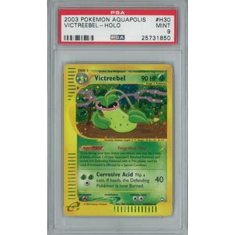 Pokemon Aquapolis Victreebel H30/H32 PSA 9