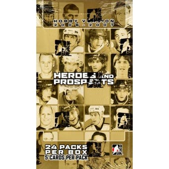 2006/07 In The Game Heroes & Prospects Hockey Hobby Box