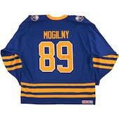 Alexander Mogilny Autographed Buffalo Sabres XXL Blue Hockey Jersey