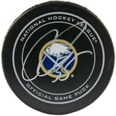 Rasmus Ristolainen Autographed Buffalo Sabres Official Game Hockey Puck