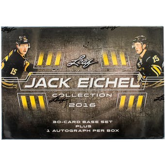 2016/17 Leaf Jack Eichel Collection Hockey Hobby Box (Set)