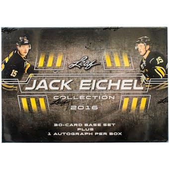2016/17 Leaf Jack Eichel Collection Hockey Hobby Box (Set)