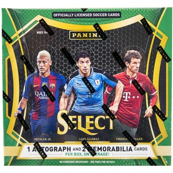 2016/17 Panini Select Soccer Hobby Box