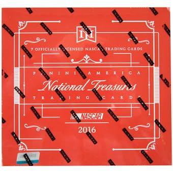 2016 Panini National Treasures Racing Hobby Box