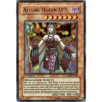 Yu-Gi-Oh Cyberdark Impact Single Allure Queen LV7 Ultra Rare SLIGHT PLAY (SP)