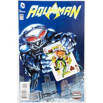 Neal Adams Autographed 11x17 Aquaman #49 Lithograph