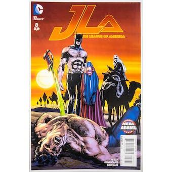 Neal Adams Autographed 11x17 JLA #8 Lithograph