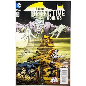 Neal Adams Autographed 11x17 Detective Comics #49 Lithograph