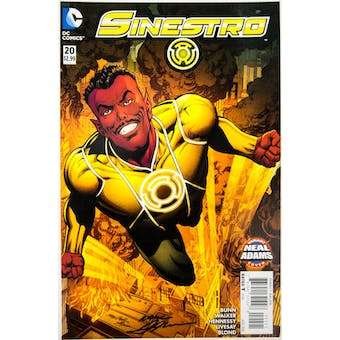 Neal Adams Autographed 11x17 Sinestro #20 Lithograph