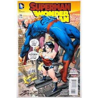 Neal Adams Autographed 11x17 Superman Wonder Woman #26 Lithograph