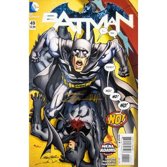 Neal Adams Autographed 11x17 Batman #49 Lithograph