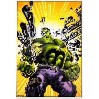 Neal Adams Autographed 11x17 Hulk Lithograph