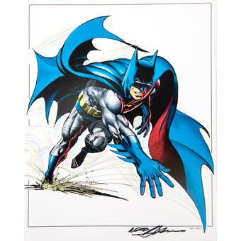 Neal Adams Autographed 11x14 Classic Batman Lithograph