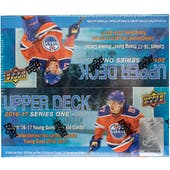 2016/17 Upper Deck Series 1 Hockey 24-Pack Box