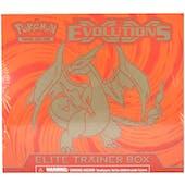 Pokemon XY Evolutions Mega Charizard Elite Trainer Box