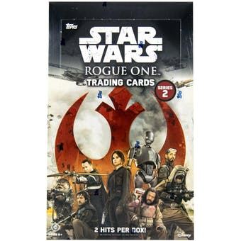 Star Wars Rogue One: Series 2 Hobby Box (Topps 2017)