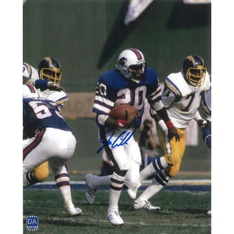 Joe Cribbs Autographed Buffalo Bills 8x10 Football Photo