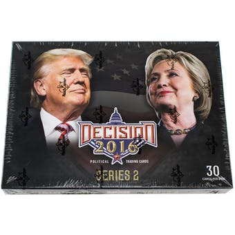 Decision 2016 Series 2 Hobby Box