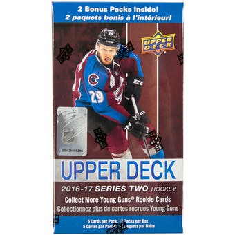 2016/17 Upper Deck Series 2 Hockey 12-Pack Blaster Box