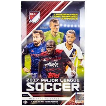 2017 Topps MLS Major League Soccer Hobby Box
