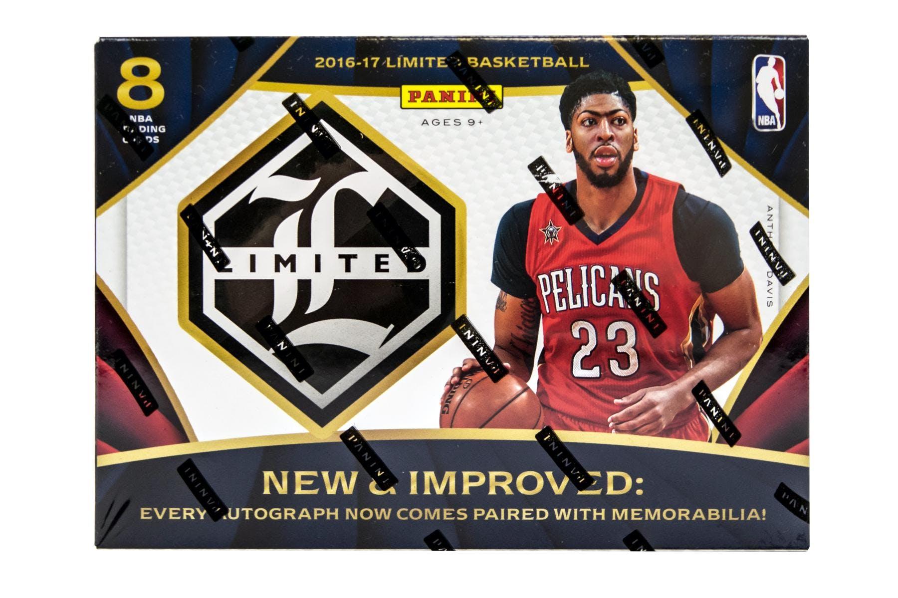 201617 Panini Limited Basketball Hobby Box