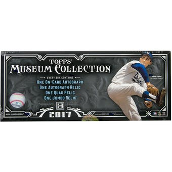 2017 Topps Museum Collection Baseball Hobby Box