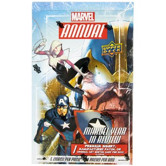 Marvel Annual Trading Cards Box (Upper Deck 2016)