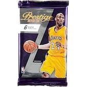 2015/16 Panini Prestige Plus Basketball Hobby Pack