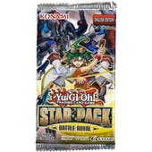 Yu-Gi-Oh Star Pack - Battle Royal Booster Pack Lot of 48