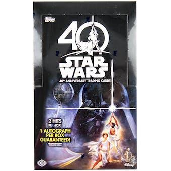 Star Wars 40th Anniversary Hobby Box (Topps 2017)