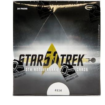 Star Trek 50th Anniversary Hobby Box (Rittenhouse 2017)