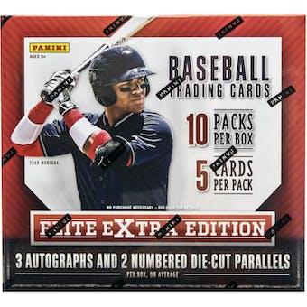 2015 Panini Elite Extra Edition Longevity Baseball Box