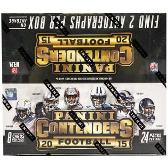 2015 Panini Contenders Football 24-Pack Box