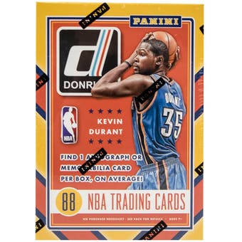 2015/16 Panini Donruss Basketball 11-Pack Blaster Box