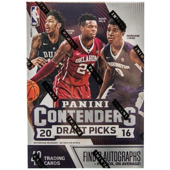 2016/17 Panini Contenders Draft Picks Basketball 7-Pack Box